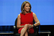 Courtesy photo Katie Couric answers questions from members of the Television Critics Association about her new daytime talk show.