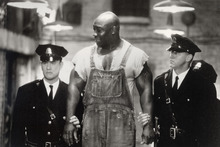 This undated image provided by Warner Bros. shows Tom Hanks, left, Michael Clarke Duncan, center, and David Morse in