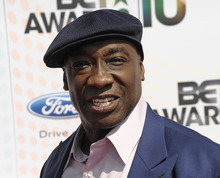 FILE - This June 27, 2010 file photo shows actor Michael Clarke Duncan at the BET Awards in Los Angeles. Publicist Joy Fehily said in a brief email statement Monday, Aug. 6, 2012, that the 54-year-old actor
