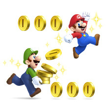 Mario and Luigi in the new Nintendo 3DS game,
