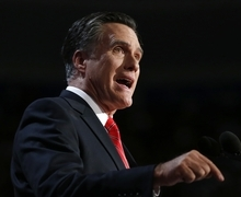 (AP Photo/Jae C. Hong, File) GOP challenger Mitt Romney points to an unemployment rate  stuck above 8 percent, while Preident Barack Obama prefers to focus on the 4 million jobs added in the past 21⁄2 years.