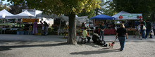 Steve Griffin | The Salt Lake Tribune The Downtown Farmers Market is at Pioneer Park in Salt Lake City. The Downtown Alliance is considering moving the market to the Rio Grande Depot building.
