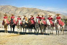 The female horseback riders of Escaramuzas Charra La Potosina will be featured performers during a Fiesta Mexicana event at the Utah State Fair. (Courtesy Fiesta Mexicana)
