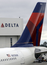 (AP Photo/Ted S. Warren, file) Delta Air Lines operates 14 reservation and customer-service centers around the world.