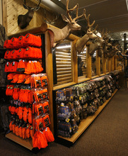 Rick Egan  | The Salt Lake Tribune   Hunting gear in the Scheels sporting goods store in Sandy.  Thursday, September 6, 2012.