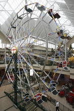 Rick Egan  | The Salt Lake Tribune   A ferris wheel in the Scheels sporting goods store in Sandy.  Thursday, September 6, 2012.