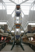 Rick Egan  | The Salt Lake Tribune   The ferris wheel inside the Scheels sporting goods store in Sandy.  Thursday, September 6, 2012.