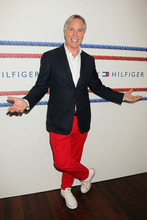 This image released by Starpix shows designer Tommy Hilfiger at the presentation for his 2013 Tommy Hilfiger Mens Collection Friday, Sept. 7, 2012 during Fashion Week in New York. (AP Photo/Starpix, Dave Allocca)