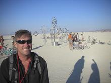 Kent Frogley at Burning Man 2012. Courtesy Kent Frogley