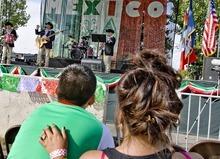 Djamila Grossman  |  The Salt Lake Tribune  Reencuentro Norteno of Salt Lake City performs at Fiesta Mexicana festivities last year at the Utah State Fair.