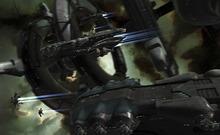 This undated publicity image provided by CCP Games shows a screenshot from the game