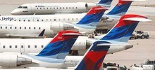 Trent Nelson file photo  |  The Salt Lake Tribune SkyWest already flies hundreds of planes every day for Delta Air Lines as Delta Connection and for United Airlines as United Express and Alaska Airlines.