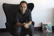 FILE - In this Aug. 24, 2012 file photo, Dave Matthews poses for a portrait at Capitol Records in Los Angeles. The Dave Matthews Band's new album,