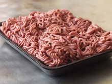 This September 2012 photo provided by Dakota Dunes, S.D.-based meat processor Beef Products Inc., shows a sample of their lean, finely-textured beef. BPI filed a defamation lawsuit Thursday, Sept, 13, 2012 against ABC News for what it alleges was misleading reporting about a product that critics have dubbed
