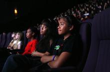 Francisco Kjolseth     The Salt Lake Tribune Bryant Middle School students watched the documentary