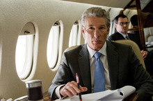 This film image released by Roadside Attractions shows Richard Gere in a scene from