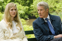 Brit Marling (left) and Richard Gere star in the financial thriller