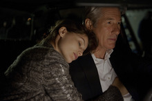 Richard Gere (right) and Laetitia Casta star in the financial thriller