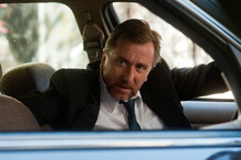 This film image released by Roadside Attractions shows Tim Roth in a scene from