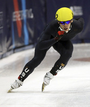 Rick Egan  |  The Salt Lake Tribune  Jordan Malone is one of several skaters to file a complaint against U.S. Speedskating short-track coaches.