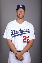GLENDALE, AZ - FEBRUARY 25: Clayton Kershaw (22) of the Los Angeles Dodgers poses during Photo Day on Friday, February 25, 2011 at Camelback Ranch in Glendale, Arizona.  (Photo by Jason Wise/MLB Photos via Getty Images) *** Local Caption ***