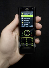 Robert Caplin/Bloomberg News. Mobile phones old and new can be a source of cyber intrusions.