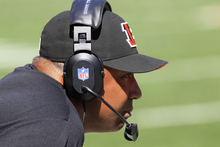 Cincinnati Bengals head coach Marvin Lewis watches from the sidelines in the first half of an NFL football game against the Cleveland Browns, Sunday, Sept. 16, 2012, in Cincinnati. (AP Photo/David Kohl)