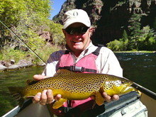 Courtesy photo   The Green River remains inconsistent for anglers. Be prepared to be versatile.