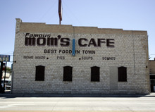 Tribune file photo The exterior of Mom's Cafe, a landmark in Salina.