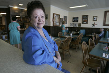 Tribune file photo After 30 years as the owner of Mom's Cafe in Salina, Carolyn Jensen sold the famous cafe in south central Utah and began a life of retirement.
