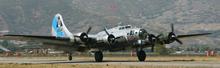 Steve Griffin | The Salt Lake Tribune    The WWII B-17G bomber,