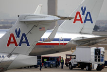 LM Otero | The Associated Press American Airlines said Tuesday that notices went out to mechanics and ground workers whose jobs will be affected as the company goes through a bankruptcy restructuring.