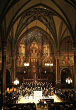 Utah Chamber Artists in the Cathedral of the Madeleine, where they will sing on Monday, Sept. 17. Courtesy photo