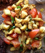 Leah Hogsten  |  The Salt Lake Tribune Doro wat, a chicken dish considered Ethiopia's national dish, at  Blue Nile Restaurant, which serves ethiopian cuisine.