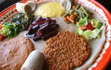 Leah Hogsten  |  The Salt Lake Tribune The vegetable combo at Blue Nile Ethiopian Restaurant.