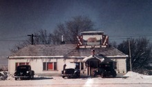 Photo from 1947, of the Scenic Inn, now called The Kitty Pappas Steak House on Highway 89 in Woods Cross.  Tuesday, September 11, 2012. The Kitty Pappas Steak House will celebrate 65 years in business on Sept. 17. The diner was originally the Scenic Inn. Kitty and her husband John changed the name
