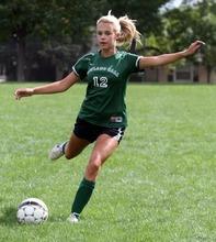 Rick Egan  | The Salt Lake Tribune   Rowland Hall soccer player Cari Sanyer, Monday, September 10, 2012.