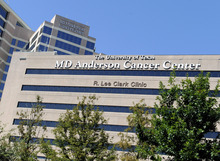 This Thursday, Sept. 20, 2012 photo shows buildings of The University of Texas MD Anderson Cancer Center in Houston. The nation's largest cancer center is launching a massive