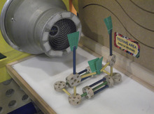 Sean P. Means     The Salt Lake Tribune Kids can build aerodynamic creations and test them at a wind machine, as part of the