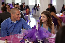 Jake Gyllenhaal, left, and Anna Kendrick in a scene from