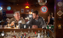 This film image released by Warner Bros. Pictures shows Clint Eastwood, left, and Justin Timberlake in a scene from