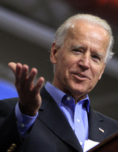 Vice President Joe Biden speaks during a campaign stop, Saturday, Sept. 22, 2012 in Merrimack, NH (AP Photo/Jim Cole)