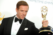 Actor Damien Lewis, winner of the Outstanding Lead Actor In A Drama Series award for