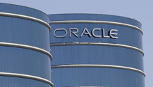 (AP Photo/Paul Sakuma, File) FILE-This Monday, June 18, 2012, file photo shows the Oracle headquarters in Redwood City, Calif.