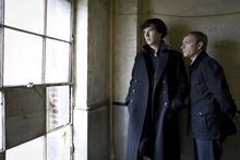 Courtesy photo Benedict Cumberbatch as Sherlock and Martin Freeman as Watson.