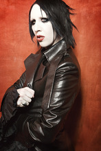 Marilyn Manson co-headlines a concert with Rob Zombie at Usana Amphitheatre on Oct. 1.