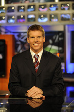 Scott Hanson hosts NFL RedZone for seven non-stop hours every Sunday. Courtesy photo