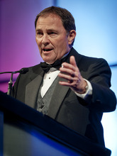 Michael Mangum  |  Special to The Salt Lake Tribune Utah Gov. Gary Herbert, shown Saturday at his Governor's Gala, wants state workers to take