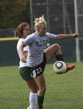 Courtesy Richard Winter Hillcrest's Rylee Gritton leads the team in scoring this season.