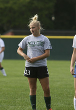 Hillcrest's Rylee Gritton leads the team in scoring this season.  Courtesy Richard Winter